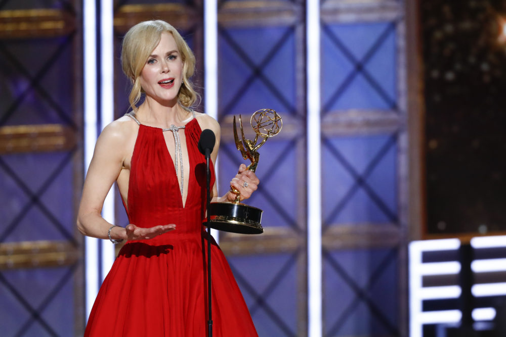 "Nicole Kidman used her ""Big Little Lies"" wins to draw more attention to domestic abuse"