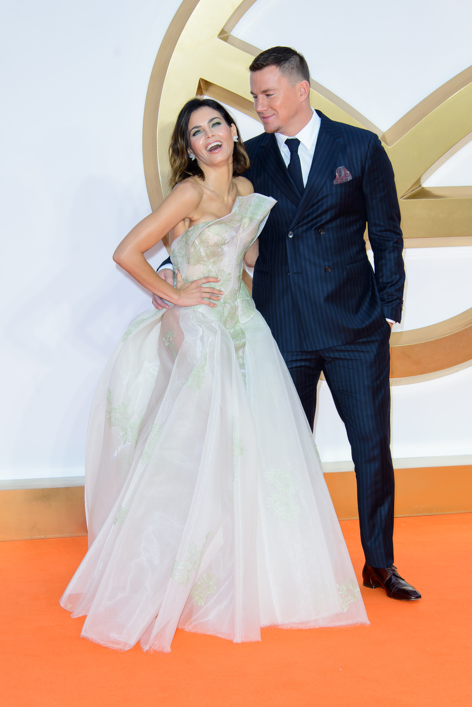Jenna Dewan Tatum And Channing Tatum Looked So In Love At