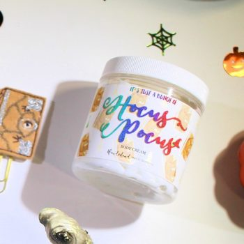 "This brand sells ""Hocus Pocus""-themed bath products, and all our Halloween dreams just came true"