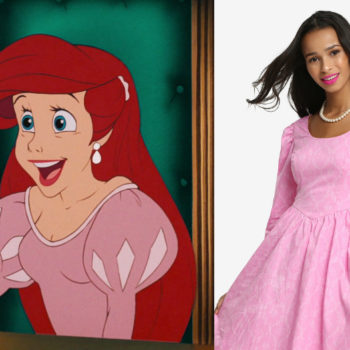 """Good news — someone finally made Ariel's *pink* dress from """"The Little Mermaid"""""""