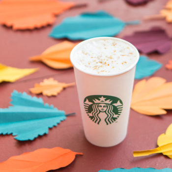 Starbucks is releasing a brand new fall drink, and it's going to be like autumn in a cup