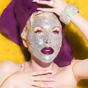 This glitter mask will make you look like you have thousands of diamonds on your face