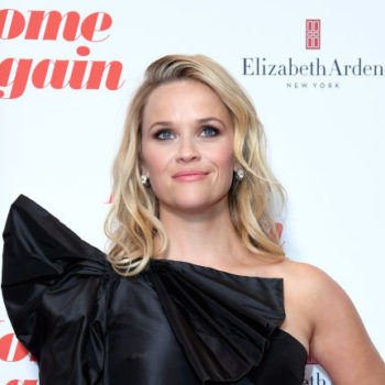Reese Witherspoon's giant bow dress turned her into a goth Elle Woods