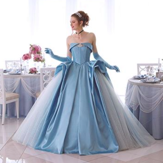 These Disney Princess-inspired bridal dresses are fit for a fairy tale wedding, but here's the catch