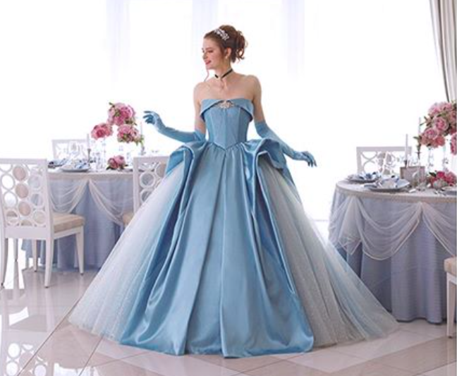 These Disney Princess-inspired bridal dresses are fit for a fairy ...