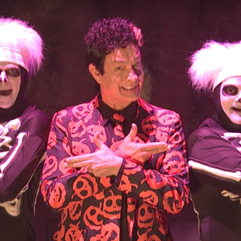 "In *shocking* ""Saturday Night Live"" news, one of the Hollywood Chrises almost played David S. Pumpkins"