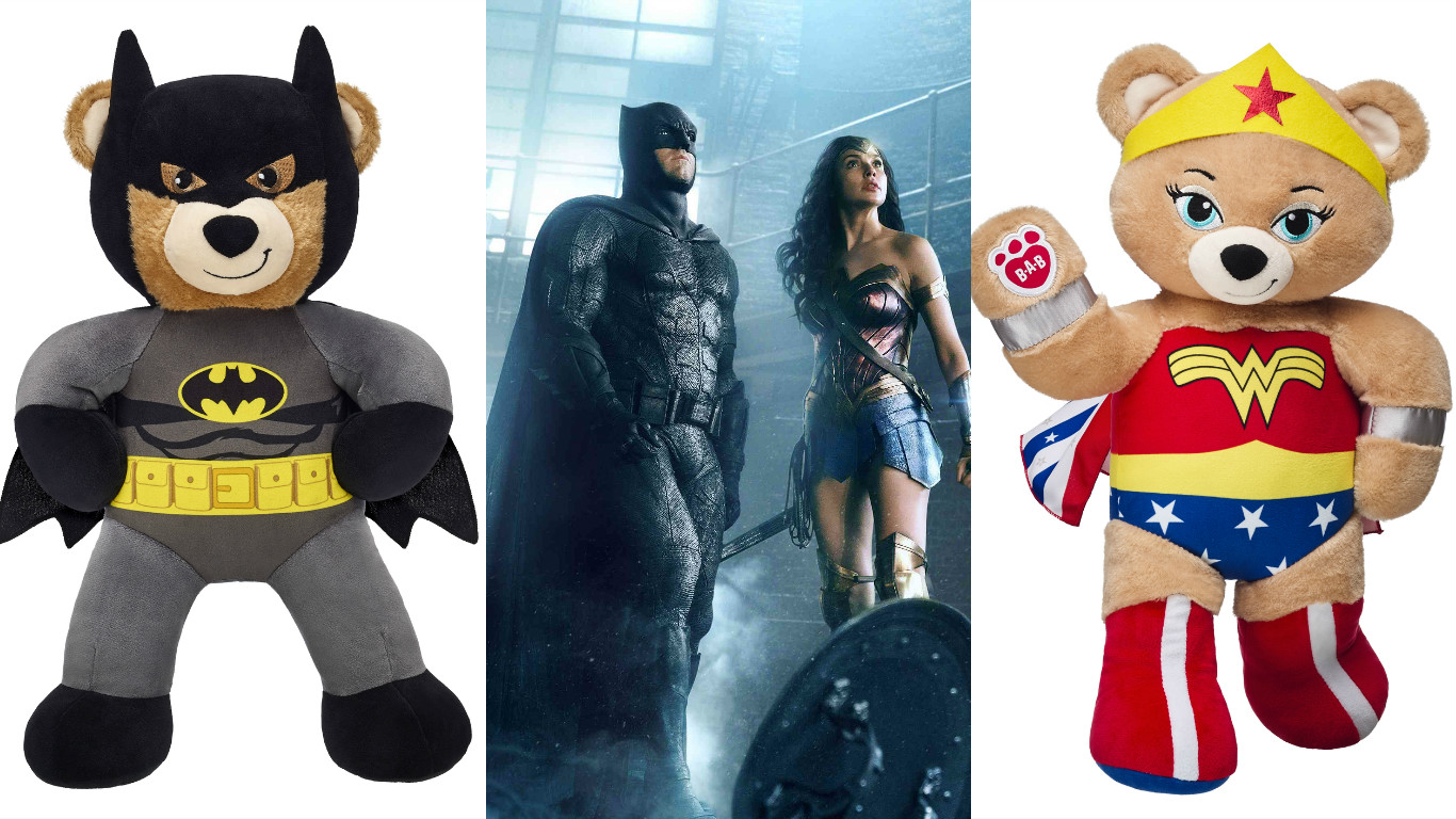 The best way to celebrate Batman Day is with Build-A-Bearu0027s new cuddly DC Comics collection - HelloGiggles & The best way to celebrate Batman Day is with Build-A-Bearu0027s new ...