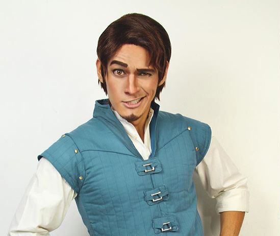 This guy dressed up as Disney princes for a week, and we've fallen head over heels