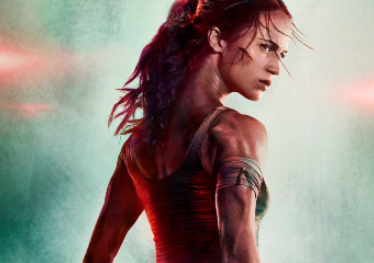 "The internet has discovered a major Photoshop fail on the new ""Tomb Raider"" poster"