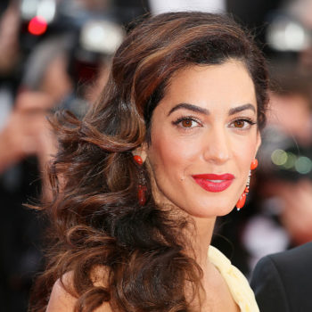Amal Clooney is back crushing it at work 3 months after giving birth