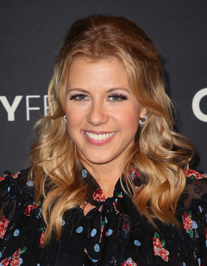 "Jodie Sweetin (aka Stephanie Tanner) has never watched an episode of ""Full House,"" and how rude!"
