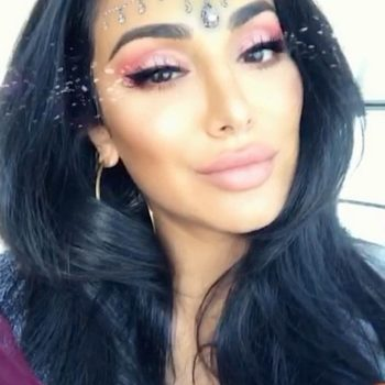 Using this Huda Beauty Snapchat filter could win you the makeover of a lifetime