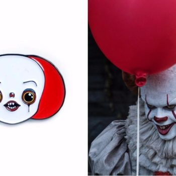 This Pennywise pin is so darn cute, I think it cured my fear of clowns