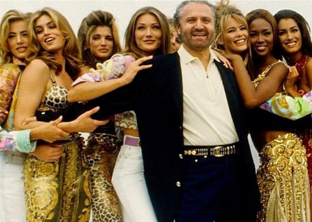 Versace reunited some of the biggest supermodels of the '90s for its epic Spring 2018 runway show