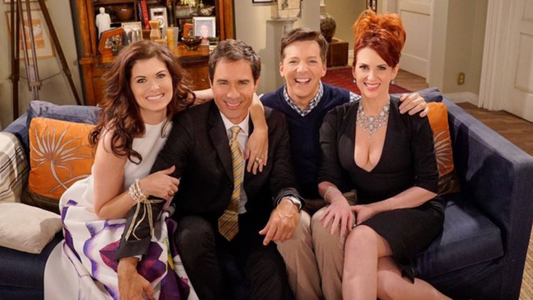 "The ""Will & Grace"" stars put lyrics to their iconic theme song, and it's catchy AF"