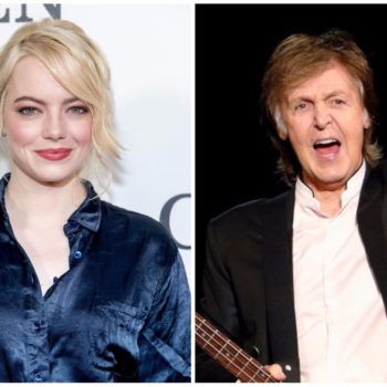 Emma Stone and Paul McCartney sang Disney songs together at a bar, and we guess they forgot to text us