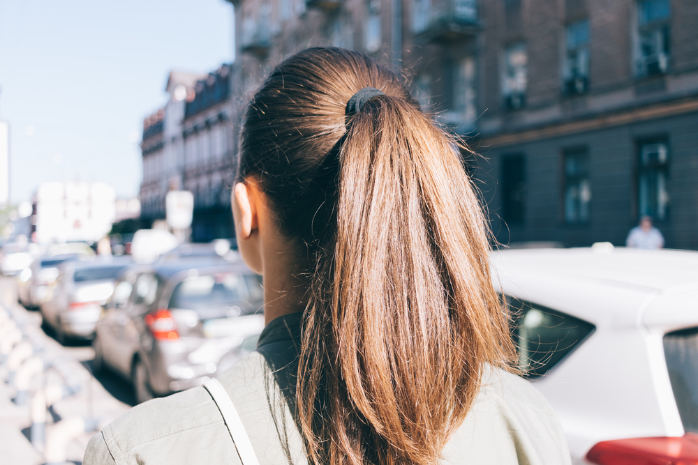Behold: The most popular ponytail on Pinterest