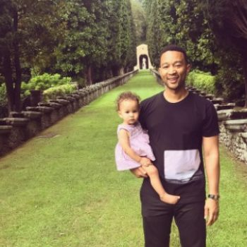 John Legend is trying to be more conscious about not doing THIS in front of Baby Luna