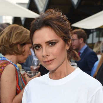 Victoria Beckham took the sheer shirt trend and (literally) made it her own