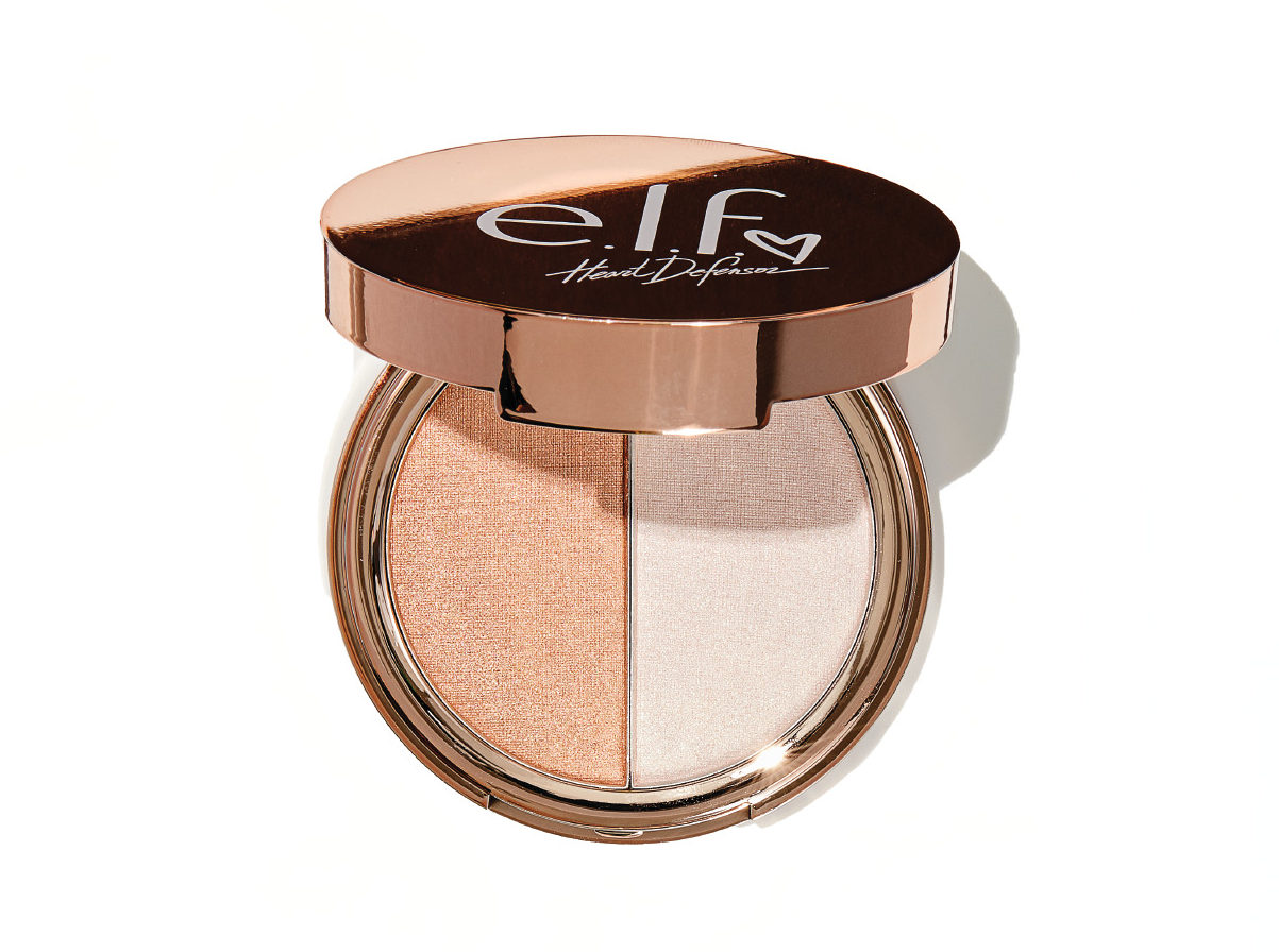 E.l.f's new champagne-colored highlighter duo is cheaper than a bottle of wine