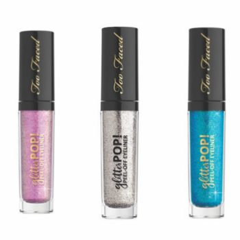 Here's the lowdown on Too Faced's game-changing Glitter Pop peel-off eyeliner