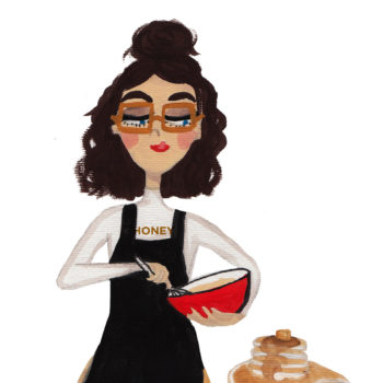 We're celebrating National Pancake Day with this mermaid (and a syrupy short stack)