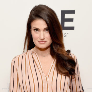 Idina Menzel got married, and she looked like a real-life Disney princess