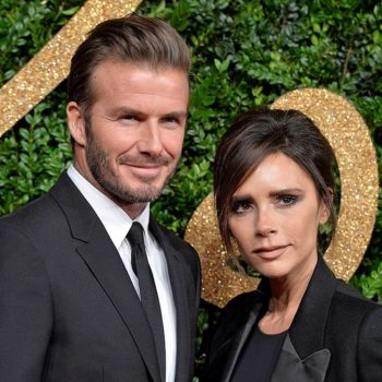 Victoria Beckham shared a pic of her husband and daughter in the most beautifully candid moment