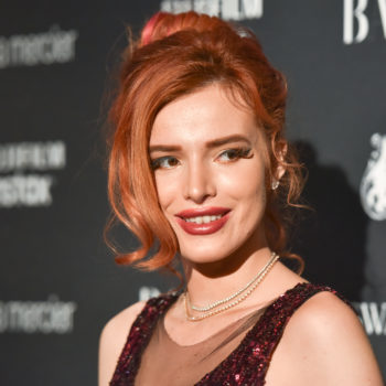 Bella Thorne just rocked a see-through fishnet bodysuit