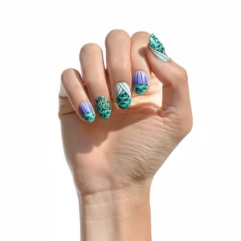 Disney teamed up with NCLA to create nail wraps fit for a princess (or villain)