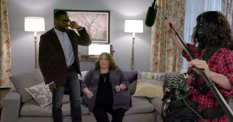 "Jimmy Fallon played an emotional sound guy in a ""This Is Us"" sketch, and it's too real"