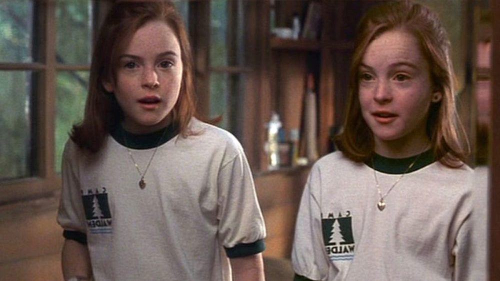 "Lindsay Lohan looks like her ""Parent Trap"" characters all grown up on her first magazine cover in years"
