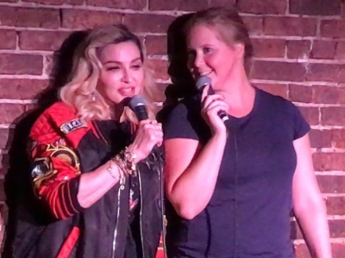 Madonna Crashes Amy Schumer's Stand-Up Set