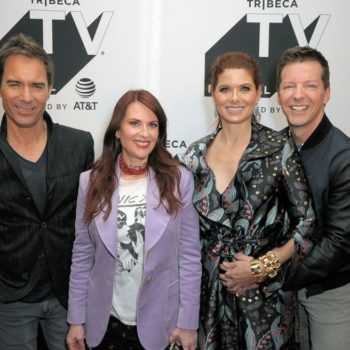 """Sean Hayes is really hoping for a """"Friends"""" and """"Will & Grace"""" crossover"""