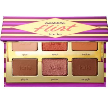 Tarte's Flirt eyeshadow palette launched just in time for Scorpio's upcoming season