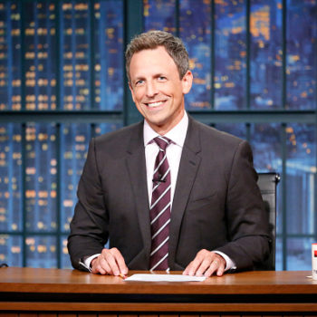 """Seth Meyers had some biting words about Trump's handling of Puerto Rico: """"Puerto Rico is America"""""""