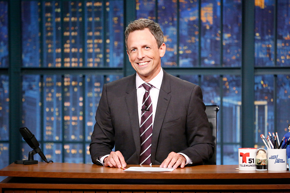 "Seth Meyers had some biting words about Trump's handling of Puerto Rico: ""Puerto Rico is America"""
