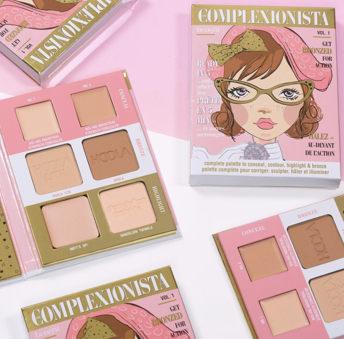 Benefit's new Complexionista palette is the only makeup product you'll need to carry in your bag
