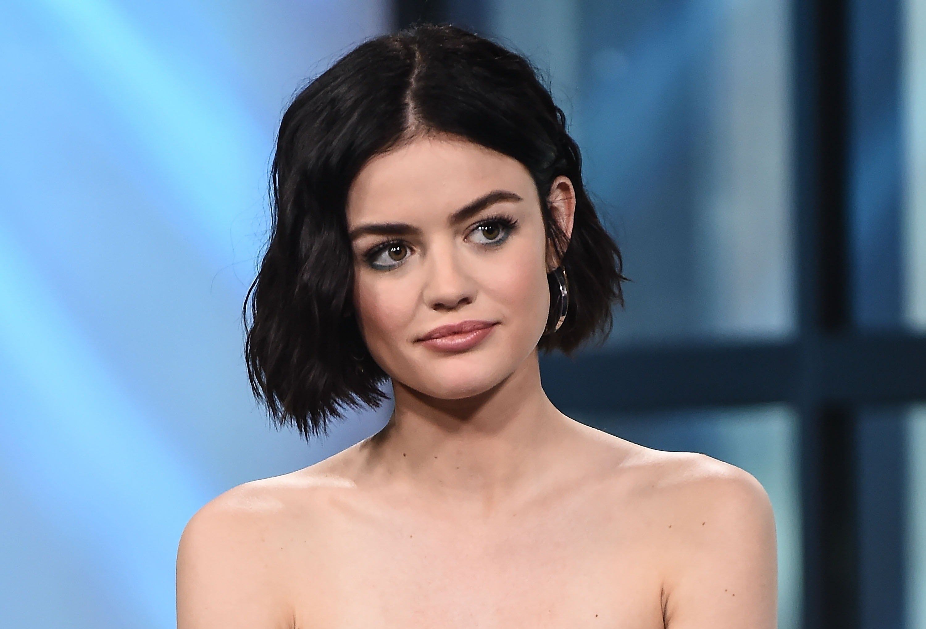 "Lucy Hale just revealed she had a huge crush on one of her costars at the start of ""Pretty Little Liars"""