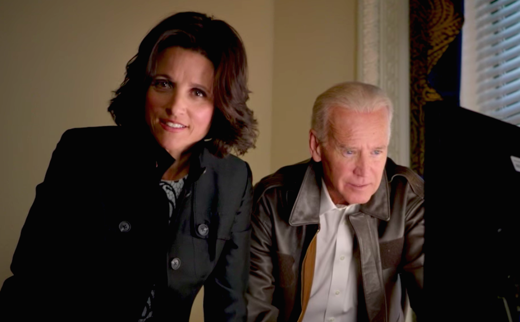 Joe Biden just tweeted his love for Julia Louis-Dreyfus, and excuse us, we've going to cry over it for the next few hours