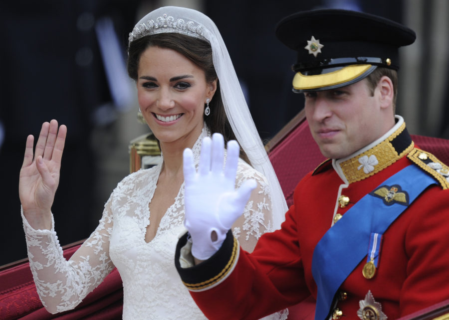 Kate Middleton apparently included this secret nod to Princess Diana on her wedding day
