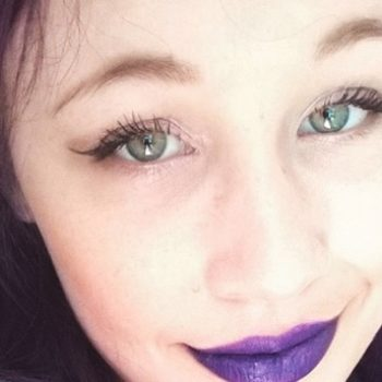 This model got an eyeball tattoo, and now she may go blind