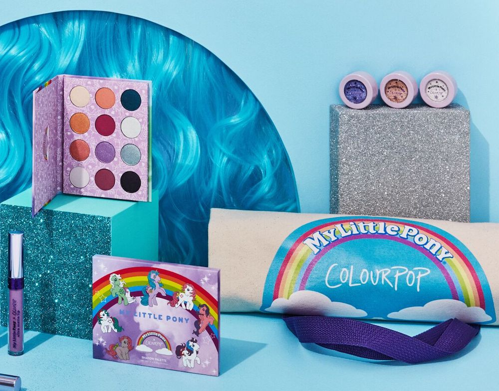 ColourPop is launching a My Little Pony collection, and our '90s hearts are screaming