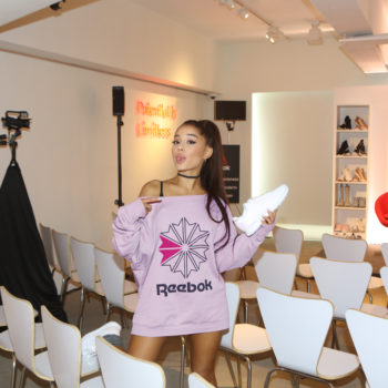 Ariana Grande signed on as the face of Reebok for this inspiring reason