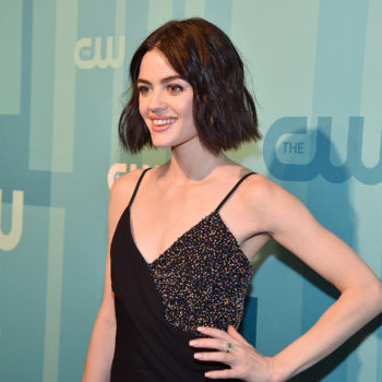 """Lucy Hale admitted she had to cover up hickeys on the set of """"Pretty Little Liars"""""""