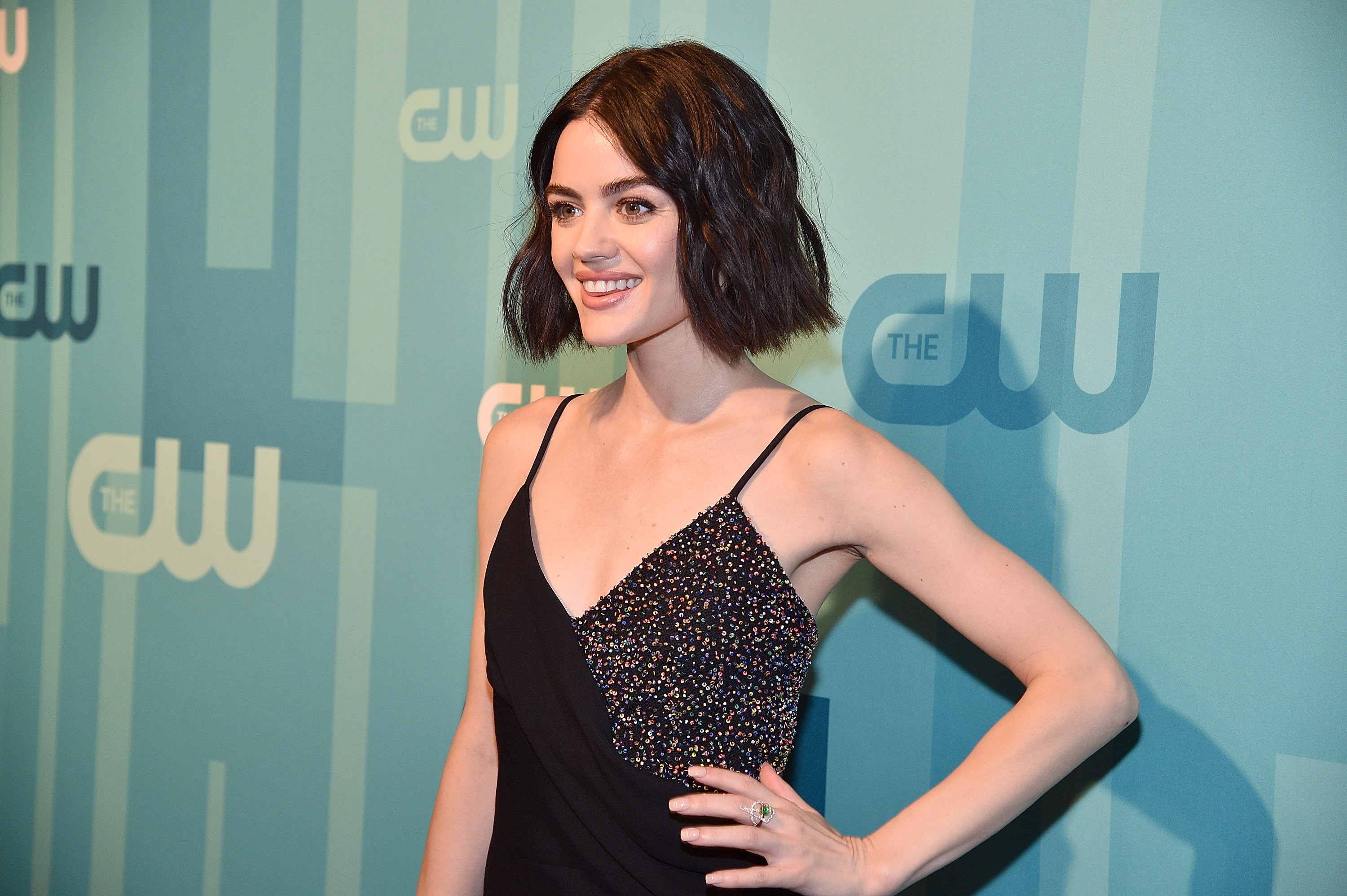 "Lucy Hale admitted she had to cover up hickeys on the set of ""Pretty Little Liars"""