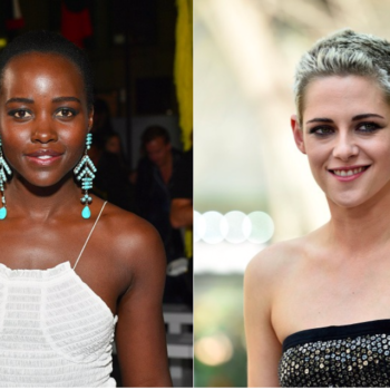 """Kristen Stewart and Lupita Nyong'o might star in the """"Charlie's Angels"""" reboot, and yes, we'll let them save the world"""