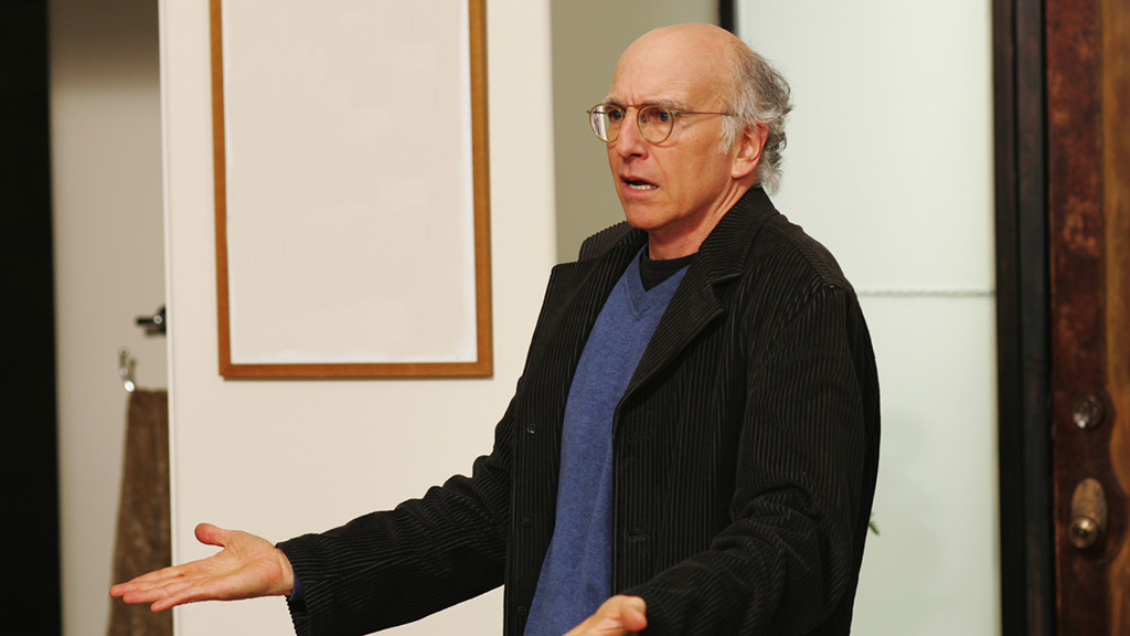 """Here's what Larry David says it was like filming Season 9 of """"Curb Your Enthusiasm"""" the day after Donald Trump was elected"""