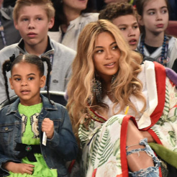 "Blue Ivy sings on Beyoncé's ""Mi Gente"" remix, because she's a superstar in the making"