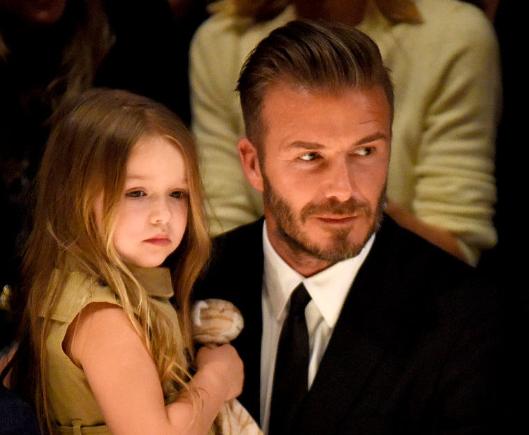 David Beckham is teaching his daughter Harper how to play soccer, and the videos are *so cute*
